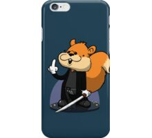 Slow motion squirrel iPhone Case/Skin
