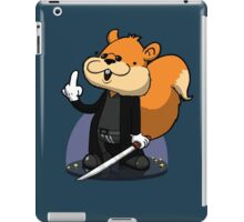 Slow motion squirrel iPad Case/Skin