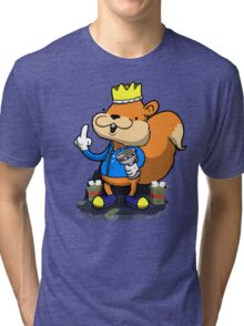 King of all the land! Tri-blend T-Shirt