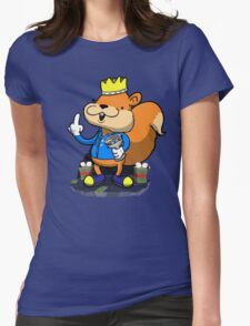 King of all the land! Womens Fitted T-Shirt
