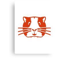 Hamster head face Canvas Print