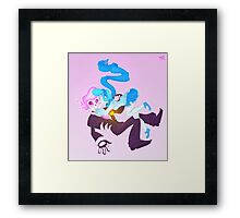 Mystery Skulls Ghost - Lewis and Vivi Framed Print