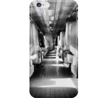waiting for the right train iPhone Case/Skin