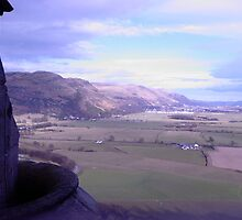 View from Wallace Monument by Ashley W