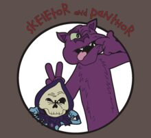 Skeletor and Panthor Kids Clothes