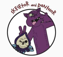 Skeletor and Panthor One Piece - Long Sleeve