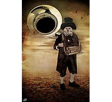 The Organ Grinder Photographic Print