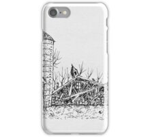 The Barns Down iPhone Case/Skin