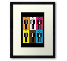 Reservoir Dogs - The Famous Six Framed Print