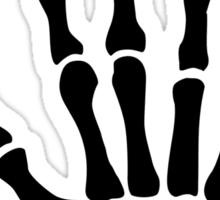 Skeleton hand finger Sticker