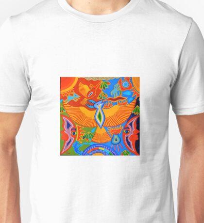 Hunting the bird spirit Unisex T-Shirt