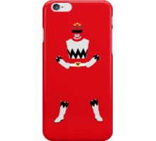 Power Rangers Lost Galaxy Red Ranger iPhone cover iPhone Case/Skin