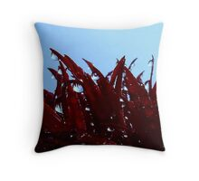 Deep in The Droplet Forest Throw Pillow