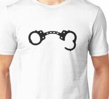Open handcuffs Unisex T-Shirt