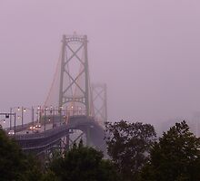 MacDonald Bridge by murrstevens