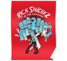 Rick Vs the Multiverse shirt Poster