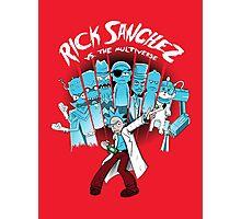 Rick Vs the Multiverse shirt Photographic Print