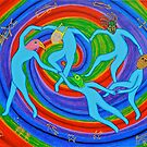 The Dance: after Matisse  by richard  webb