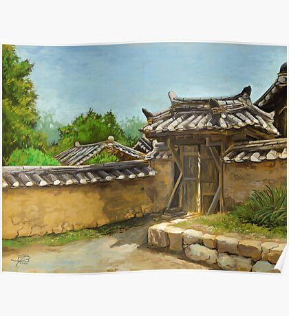 Korean Gate Poster