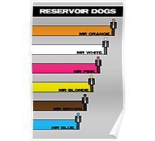 Reservoir Dogs - Bars Poster