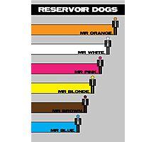 Reservoir Dogs - Bars Photographic Print