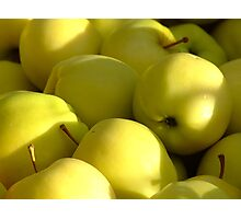 yellow delicious Photographic Print