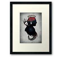 Spiral Detective Framed Print