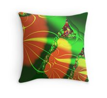 The Bean Stalk Throw Pillow