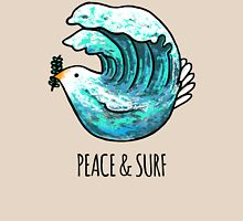 Peace & Surf Womens Fitted T-Shirt