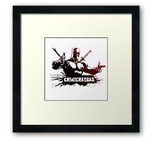 Chimichangas! Framed Print
