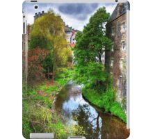 The Water of Leith at Dean Village iPad Case/Skin