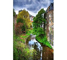 The Water of Leith at Dean Village Photographic Print