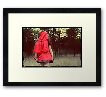 The Way to Grandmother's House Framed Print