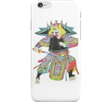 china warrior 1 iPhone Case/Skin