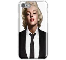 Marilyn Monroe Tuxedo iPhone Case/Skin