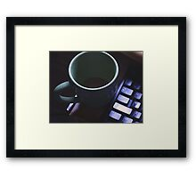 Forgotten Coffee  Framed Print