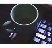Forgotten Coffee  Photographic Print
