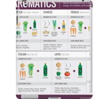 Cook Smarts' Guide to Adding Flavor with Aromatics iPad Case/Skin