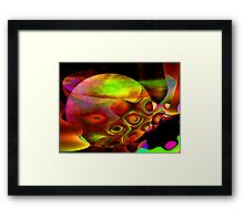 World In Motion-Available As Art Prints-Mugs,Cases,Duvets,T Shirts,Stickers,etc Framed Print