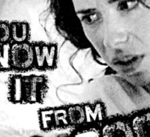 How Can You Know It From Books? Sticker