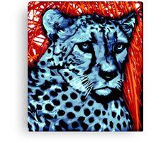 Cheetah artwork Canvas Print