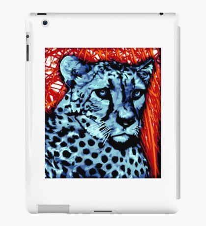 Cheetah artwork iPad Case/Skin