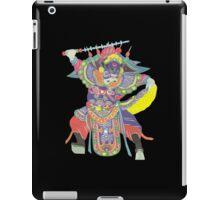 china warrior black iPad Case/Skin