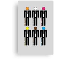 Reservoir Dogs - Lineup Canvas Print