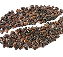 Coffee Bean Mosaic by travellingtwo