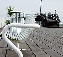 White Bench by Merice Ewart Marshall - LFA