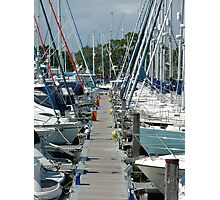 Chichester Marina Photographic Print