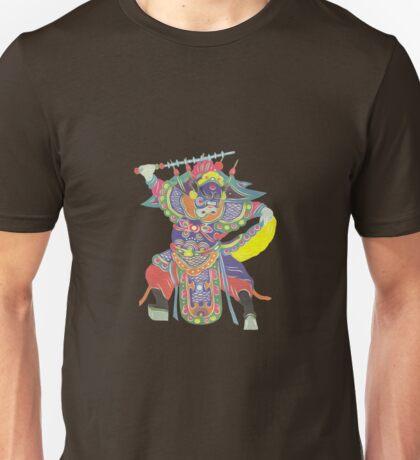 china warrior brown Unisex T-Shirt