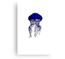 JELLYFISH - BLUE Canvas Print