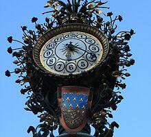 Dewailly Clock - Amiens - France by aidan  moran
